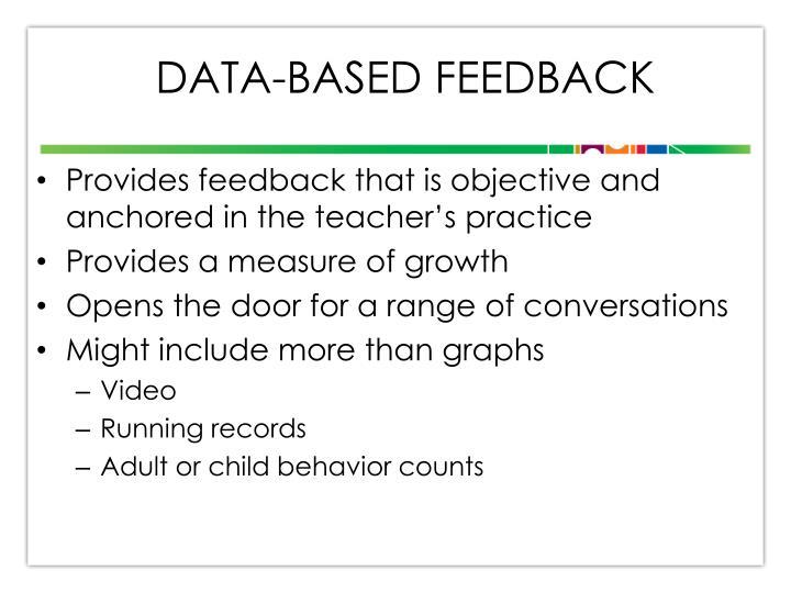 Data-based Feedback
