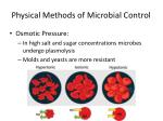 physical methods of microbial control6