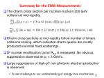 summary for the star measurements1