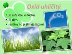 oxid uhli it