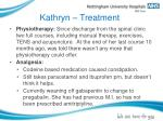 kathryn treatment