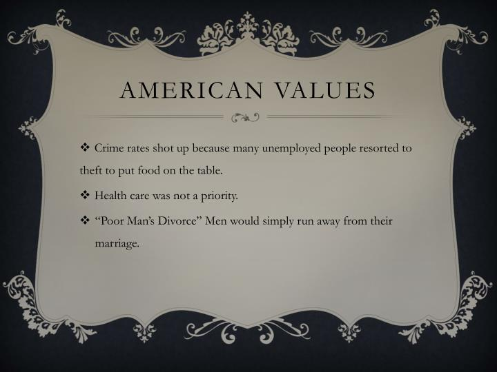 American values