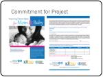 commitment for project