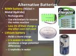 alternative batteries