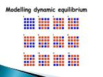 modelling dynamic equilibrium