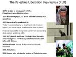 the palestine liberation organization plo