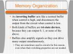 memory organization4