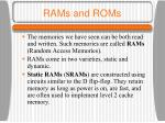 rams and roms