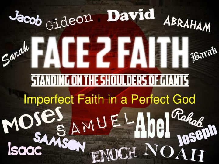 imperfect faith in a perfect god n.
