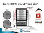 an exogeni cloud rack site