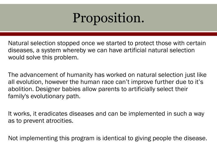 Proposition.