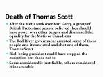 death of thomas scott