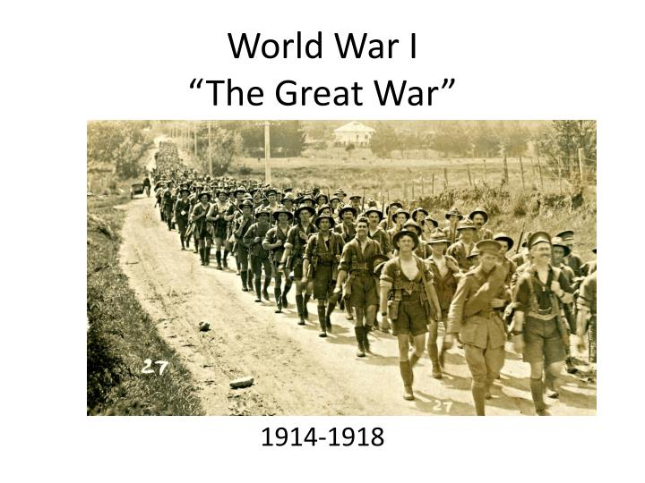 world war i the great war n.
