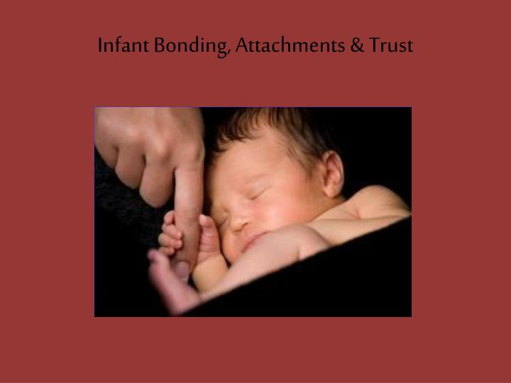 bonding and attachment The bond between a woman and her foetus is often conceptualised by health professionals in terms of maternal-foetal attachment or prenatal attachment defining and measuring the extent of bonding during pregnancy.