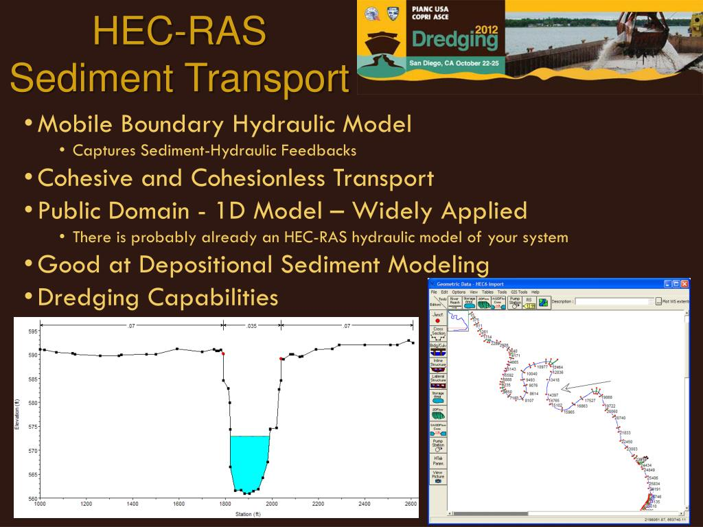 PPT - Simulating Dredging with HEC-RAS PowerPoint Presentation - ID