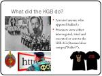 what did the kgb do