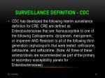 surveillance definition cdc