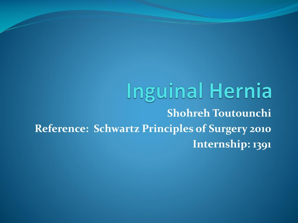 Ppt Inguinal Hernia Powerpoint Presentation Id2204764