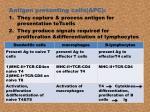 antigen presenting cells apc