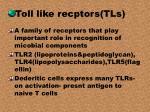 toll like recptors tls