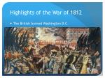 highlights of the war of 18121