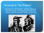 tecumseh the prophet