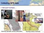 collecting gps data