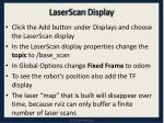 laserscan display