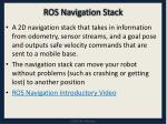 ros navigation stack