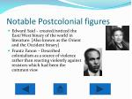 notable postcolonial figures