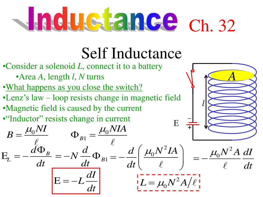 Ppt Inductance Powerpoint Presentation Id2204865 If We Increase The In An Rl Circuit What Happens To Slide1 N