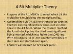 4 bit multiplier theory1
