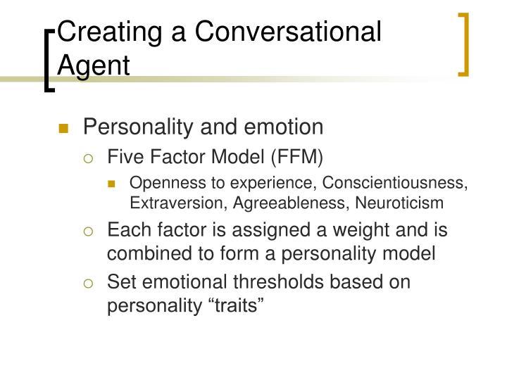 Creating a Conversational Agent
