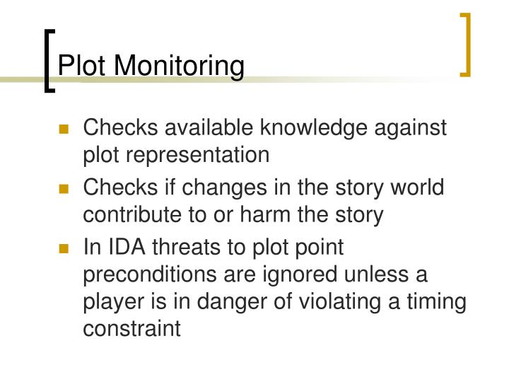 Plot Monitoring