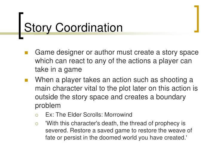 Story Coordination