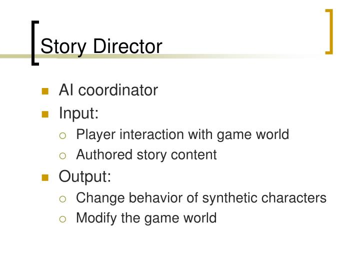 Story Director