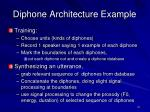 diphone architecture example