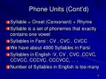 phone units cont d2