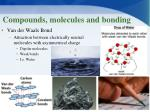 compounds molecules and bonding3