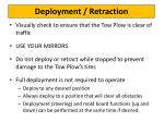 deployment retraction