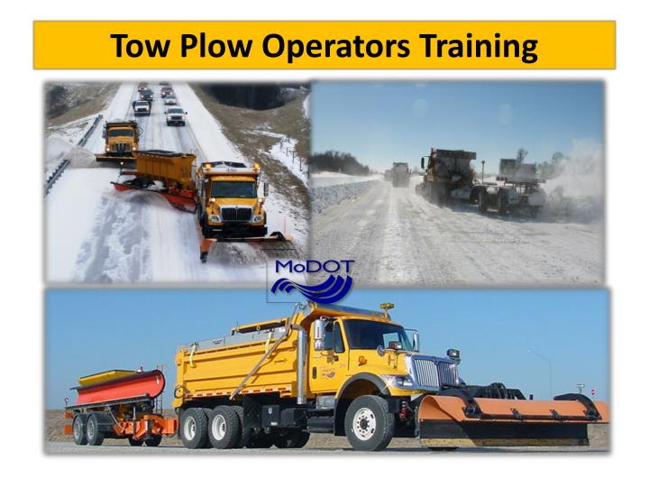 tow plow operators training n.