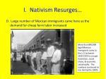 i nativism resurges5