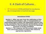 ii a clash of cultures3