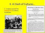 ii a clash of cultures4