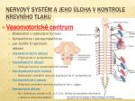 nervov syst m a jeho loha v kontrole krevn ho tlaku1