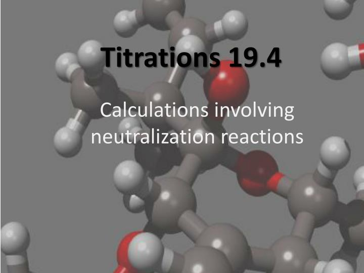 titrations 19 4 n.