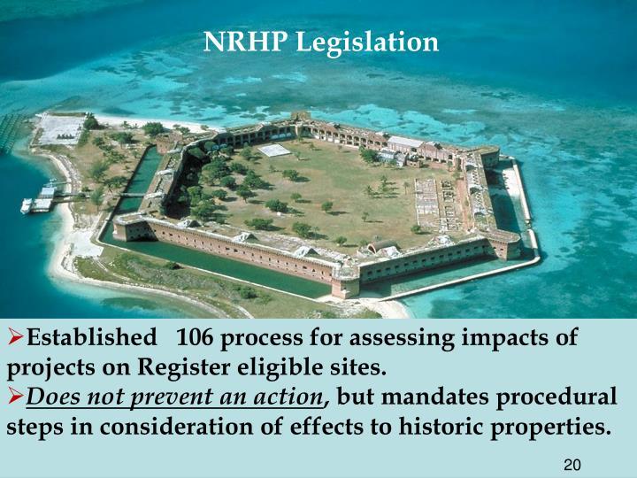 NRHP Legislation