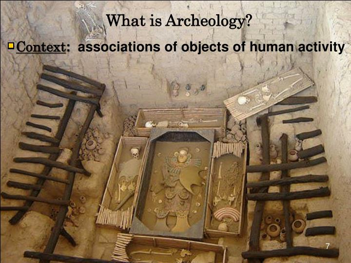 What is Archeology?