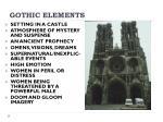 gothic elements