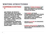 writing structures1
